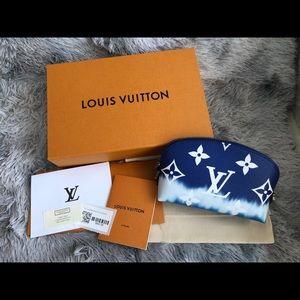 Louis Vuitton Escale Cosmetic Pouch w chain strap
